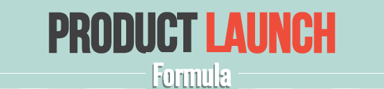 what is product launch formula