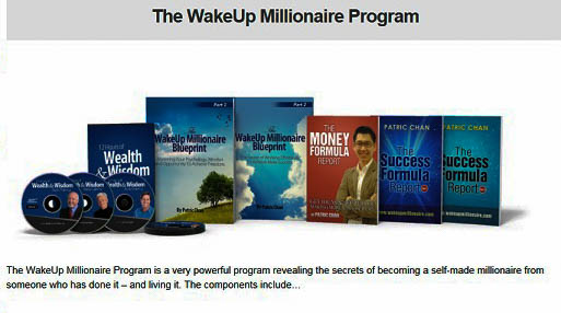 what is wakeup millionaire about