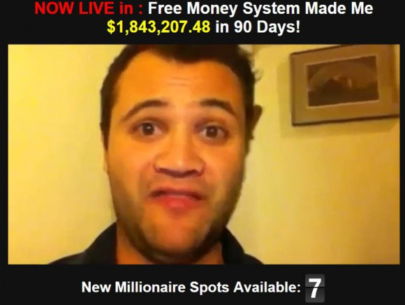FREE MONEY SYSTEM ACTOR