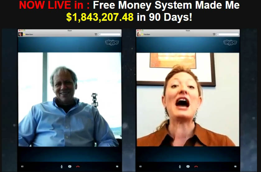 FREE MONEY SYSTEM SCAM