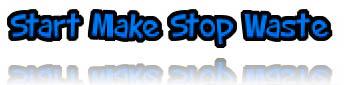 start make stop waste