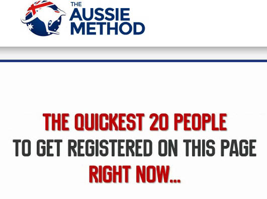 THE AUSSIE METHOD LIES