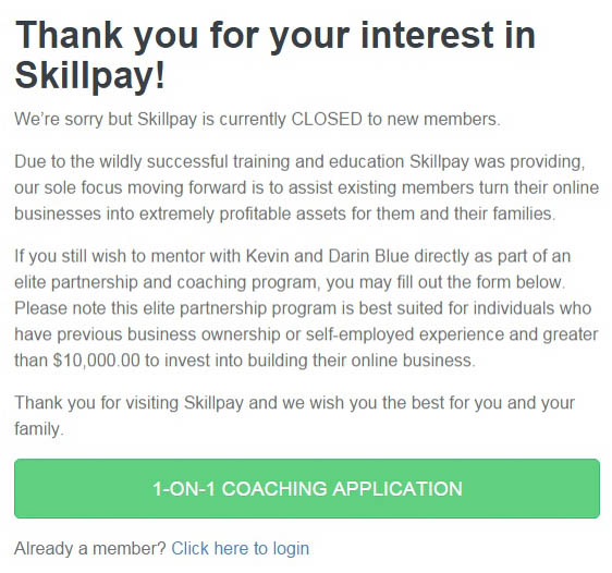 what is skillpay