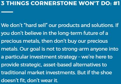 what is cornerstone bullion
