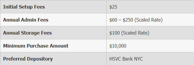 blanchard and company fees