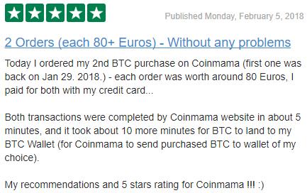 coinmama complaints