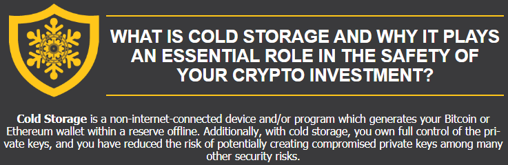 cold storage bitcoin