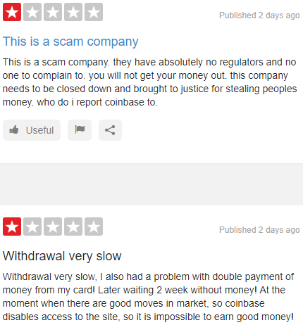 is coinbase a scam