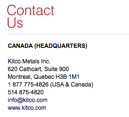 what is kitco metals
