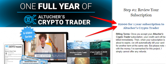 what is altucher crypto trader