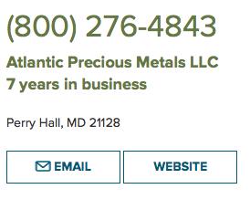 What is Atlantic Precious Metals
