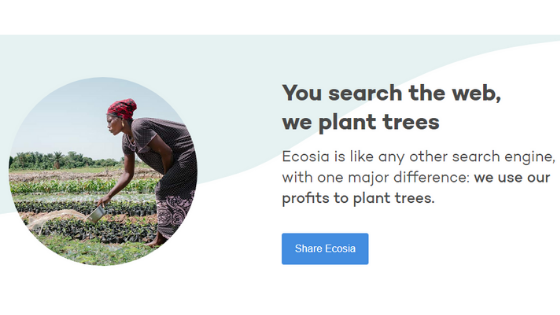 what is Ecosia
