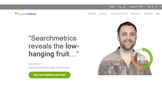 What is Searchmetrics