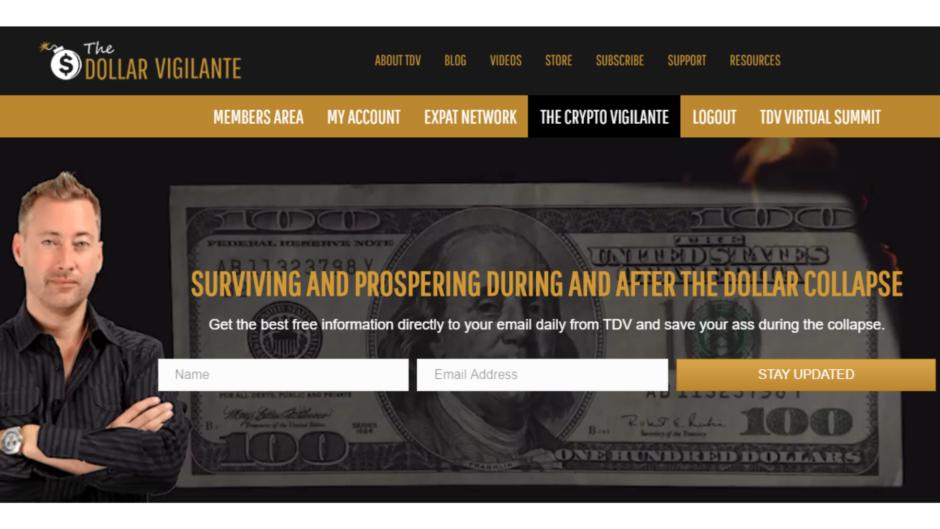 What is The Dollar Vigilante